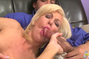 Sexy Blonde Loves Getting A Big Cock In Her Pussy