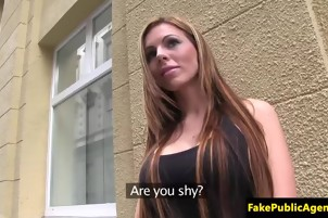 nasty chick sucks on a mans cock