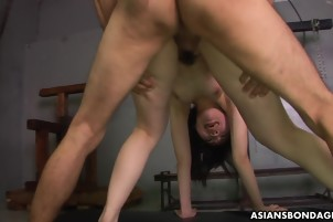 Asian Hooker Gets Fucked By Two Stiff Dicks