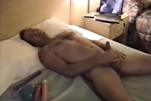 Hard Stud Jacks His Fat Dick In The Shower