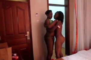 Hot bedroom vagina cleaning black lesbians