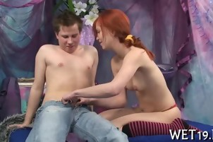 Lustful rear pounding for hot chick