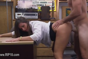Real amateur girls fucked by stunning guy