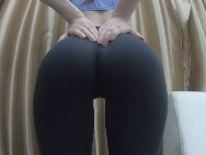 Yoga pants hottie fucked and creampied