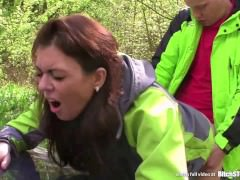 Bitch STOP - Horny Czech bitch with hairy pussy