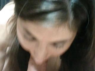 amateur wife blow job, anal, rim, facial, pov