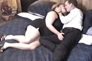 A Mature Bbw Gets Fucked By A Younger Man