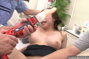Tasty Asian Gets Dicks Shoved In Her Wet Vagoo