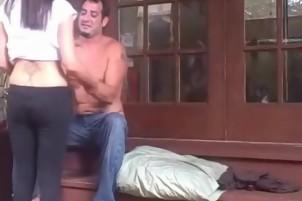 Milf Sucks Blows And Fucks Husband Till He Cums
