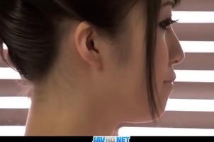 Hot Asian With Tiny Tits And Hairy Cunt Masturbates