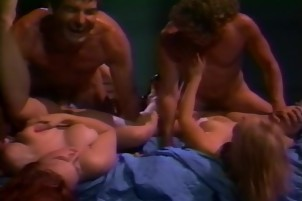 Sassy Girls Share His Engorged Cock Together