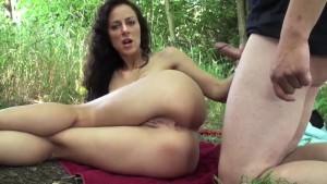 Nice anal fucking with busty german amateur girl i met via DATES25.COM