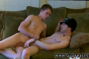 Cute twink stocking movie and sexy hot gay with red hair