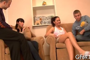 Hardcore pleasuring for virgin