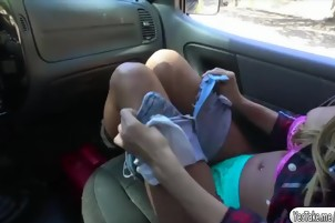 Jill Kassidy gets fuck in the car
