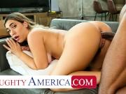 Naughty America - Lexi Grey enjoys bouncing a big black cock!