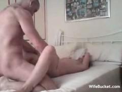 Wife fucked on hidden cam